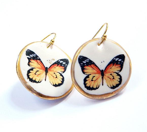 Cercei Yellow Butterfly