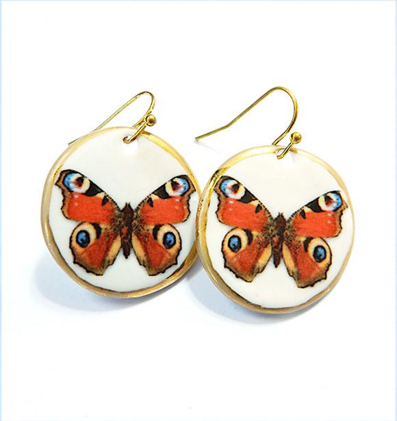 Cercei Orange Butterfly