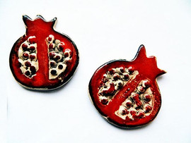 Brosa Martisor Pommegranate
