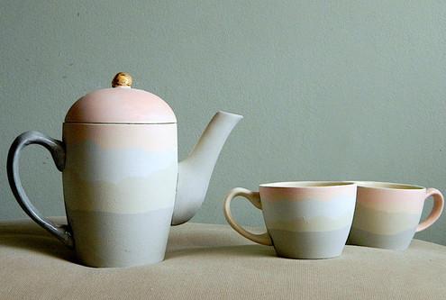 Set Ceai Pastel Pink