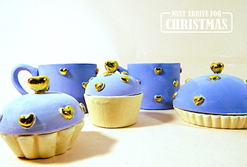 Cesti si Cupcakes Sugar&Blue