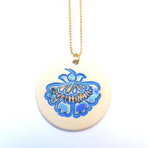 Pandantiv Blue&Gold