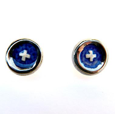 Cercei Silvery Dark Blue