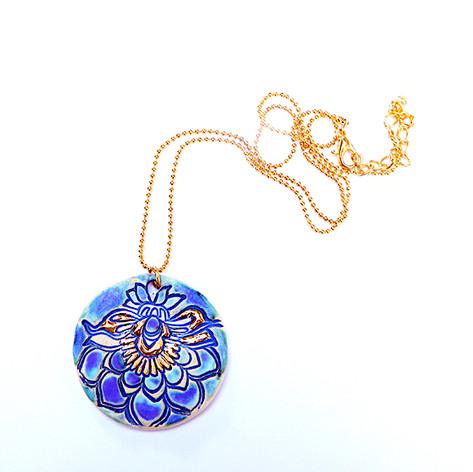 Pandantiv Royal Blue