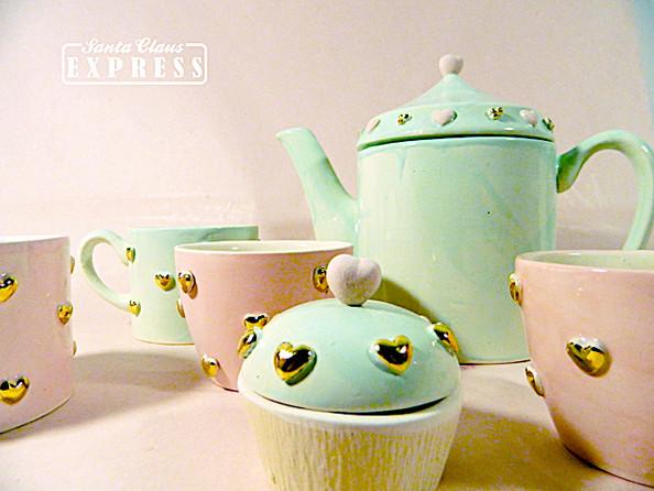Ceainic, Cesti si Cupcakes Sugar&Mint