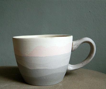 Ceasca Pastel Grey