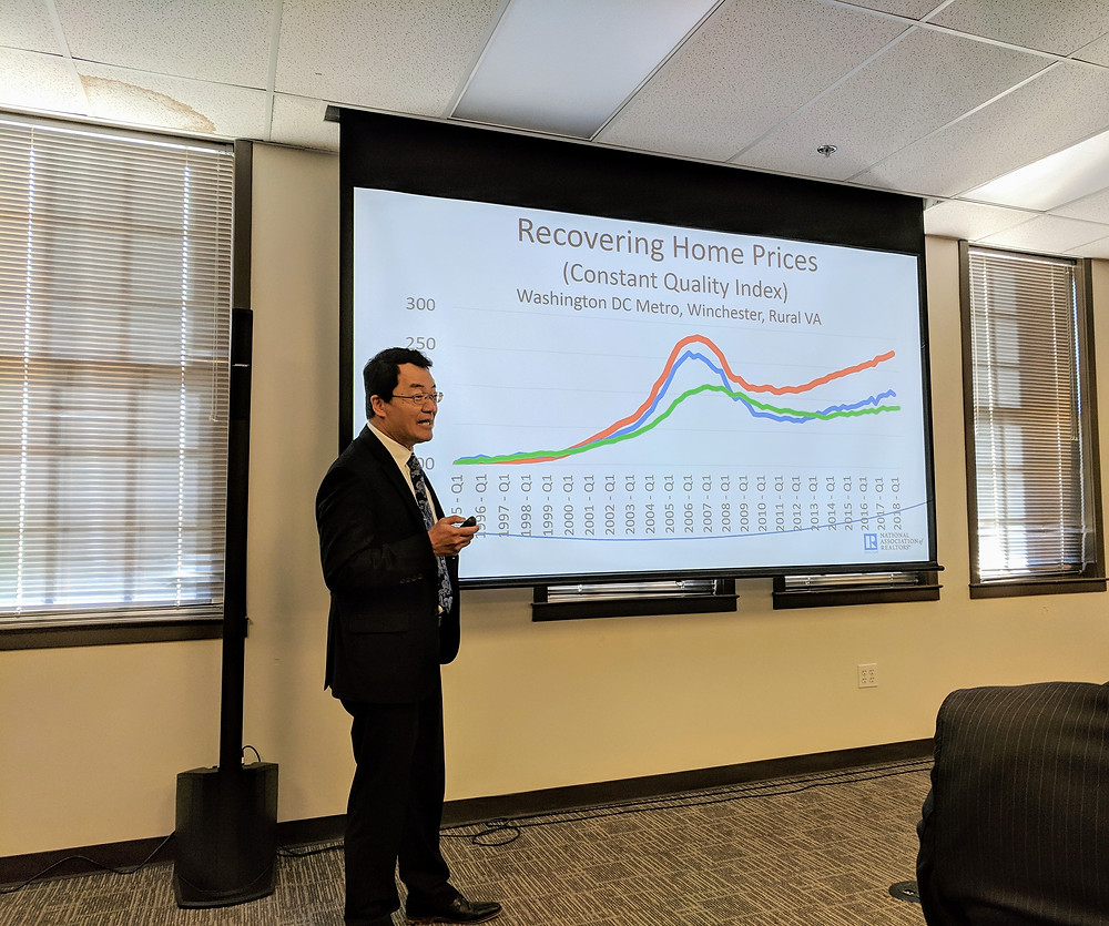 Dr. Yun highlighting the full recovery