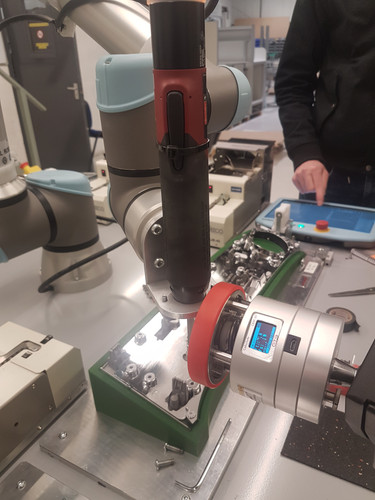 Safety Testing a Collaborative Robot