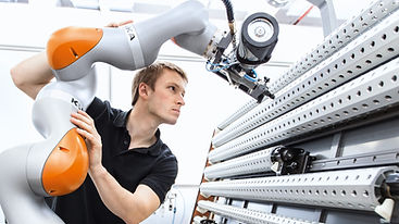 Kuka collaborative robot car production