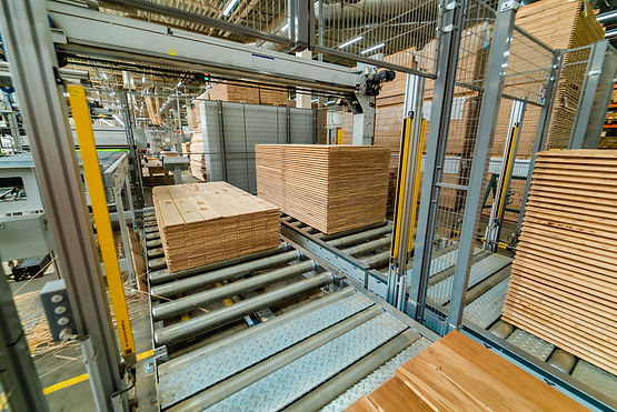 Palletising conveyors