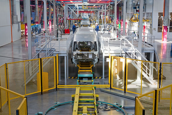 PUWER assessments, car production factory