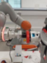 Kuka cobot force testing
