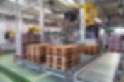 Palletising factory