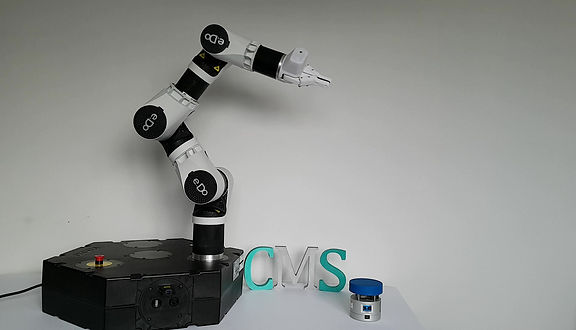 Cobot collision testing using GTE force testing equipment