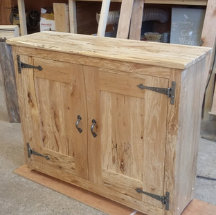Spalted Beech Cabinet