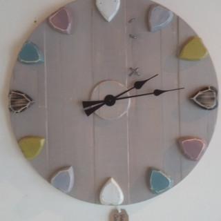Coloured Kitchen Clock