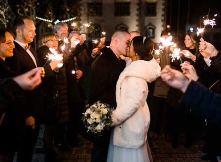 Winterhochzeit & Candlelight Wedding in hiltpoltstein