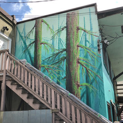 Dayton Boots Mural Side