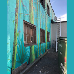 Dayton Boots Mural Alley