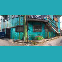 Dayton Boots Mural Back Alley