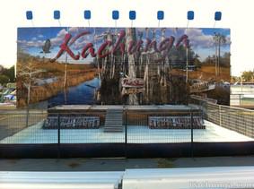 kachunga and the alligator show