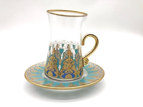 トルコチャイ&コーヒグラス(持ち手付き)15