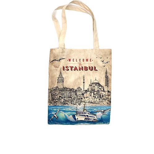 トルコ雑貨、トルコエコバッグ