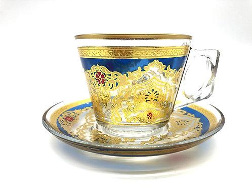 トルコチャイ&コーヒグラス(持ち手付き)18