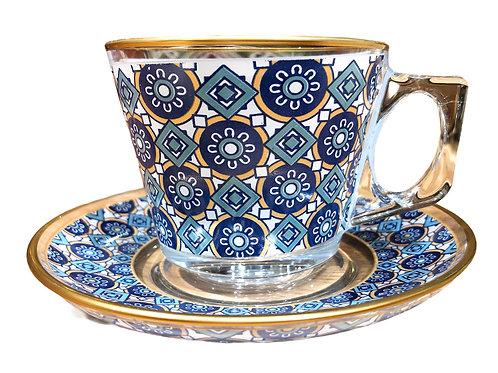 トルコチャイ&コーヒグラス(持ち手付き)30