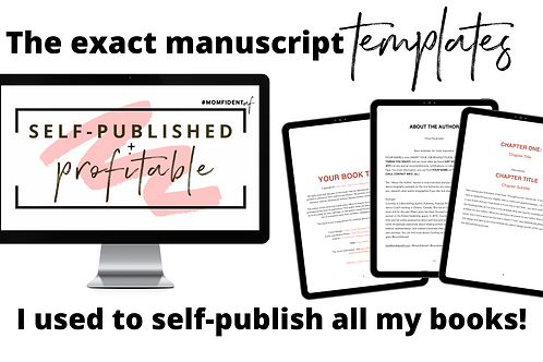 MANUSCRIPT TEMPLATES + Mini Course