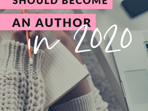 Why You Should Become An Author In 2020