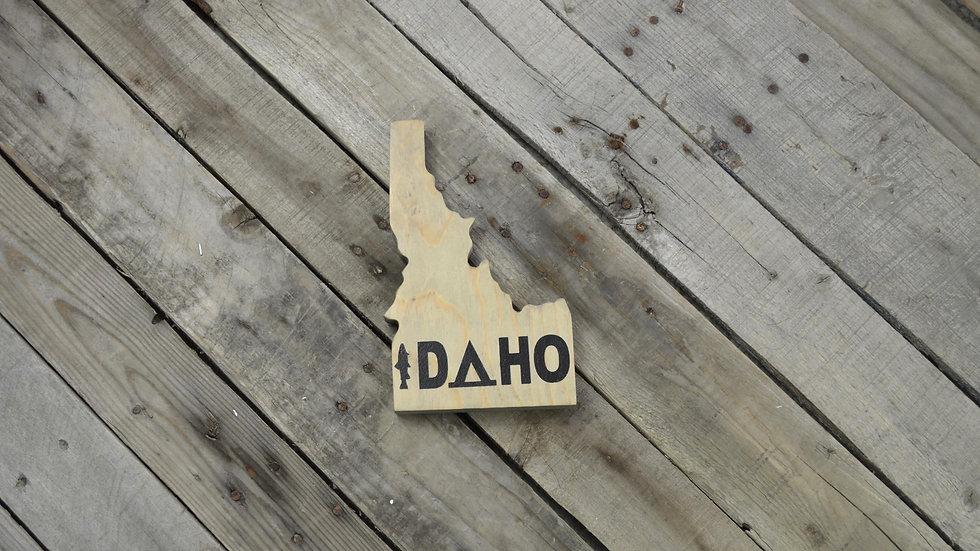 Idaho Cutout Sign - IDAHO