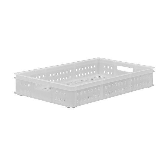 "Bakery Tray (30x18"") - Perforated with hand holes"