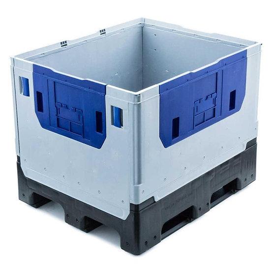 Premium Folding Pallet Box 840 Litres