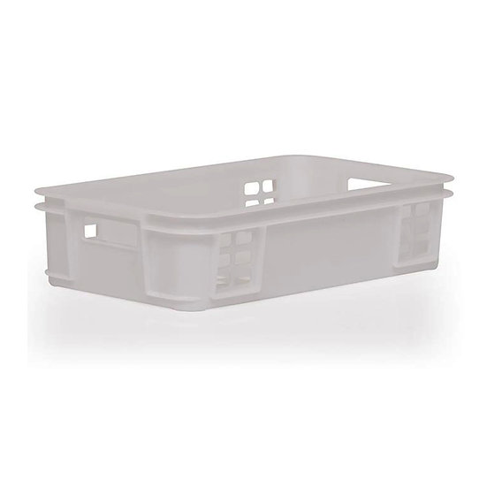 Stacking Tray with perforated Sides and Base 28.5 Litre