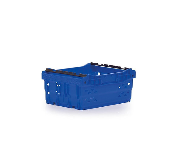 Stack & nest crate blue