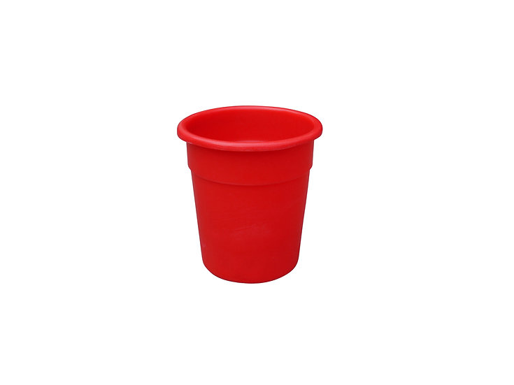 Food Grade Plastic Tapered Bin - 20 Litres