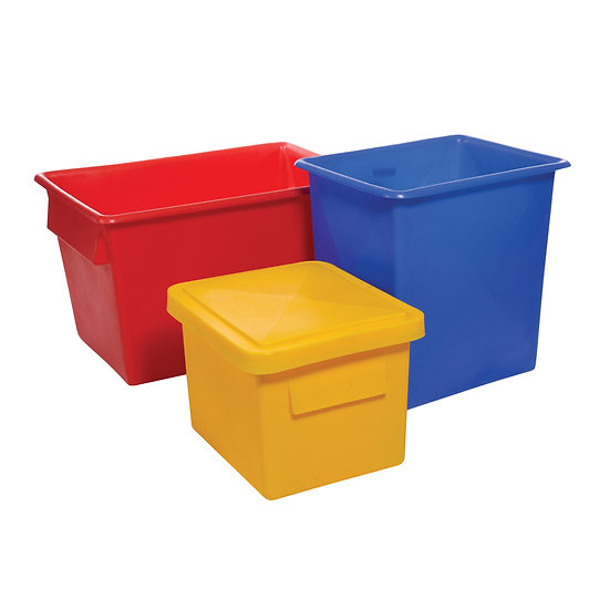 Food Grade Plastic Tapered Tank - 455 Litres