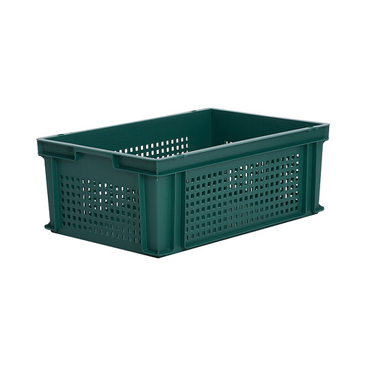 Euro Stacking Tray Perforated 43 Litres