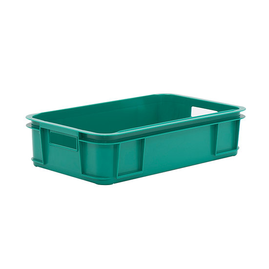 Solid Stacking Tray with hand holes