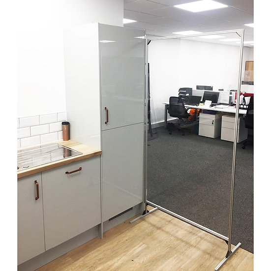 Free Standing Perspex Divider Screens