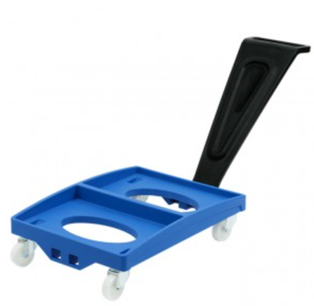Food grade plastic dolly