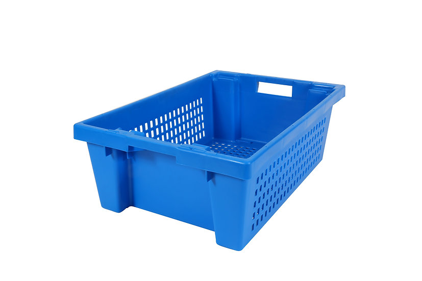 Stack & Nest Container Perforated 32 litre