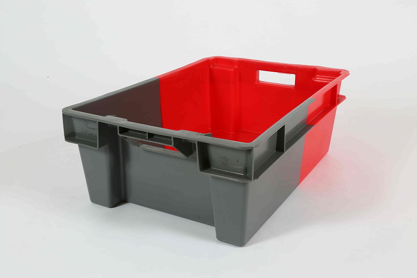Two Tone Stacking and Nesting Tray Solid - 32 Litres