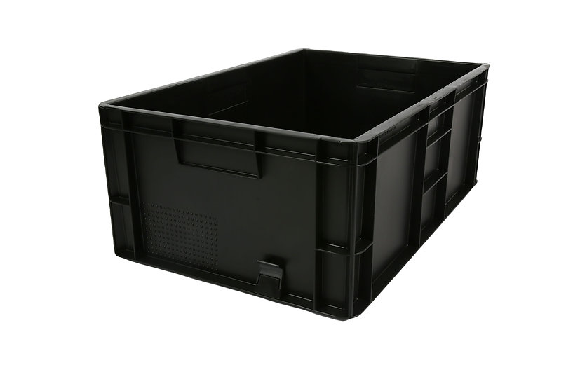 Recycled Euro Stacking Tray - 46 Litres