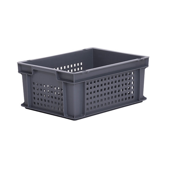 Euro Stacking Tray Perforated 15.5 Litre