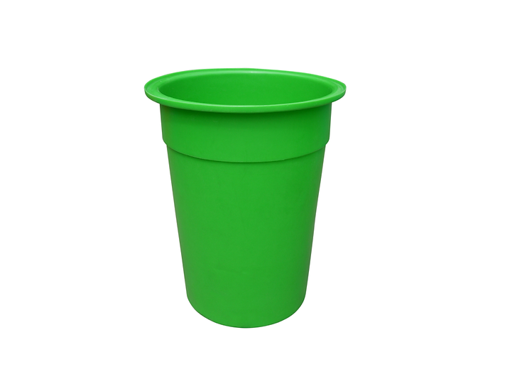 Food Grade Plastic Tapered Bin - 215 Litres