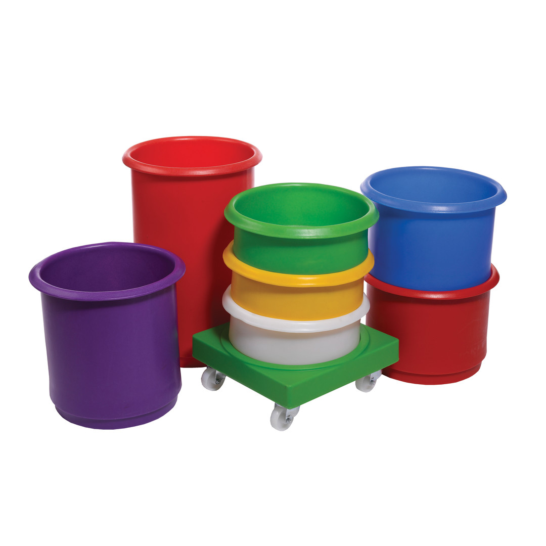 Inter-stacking Food grade Ingredient Bins