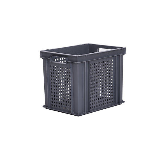Euro Stacking Tray Perforated 30 Litres