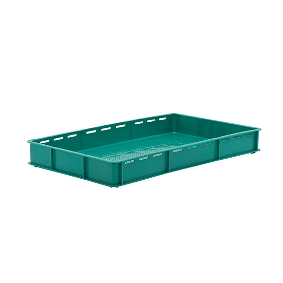 """Bakery Tray (30x18"""") - Side slots and perforated base"""
